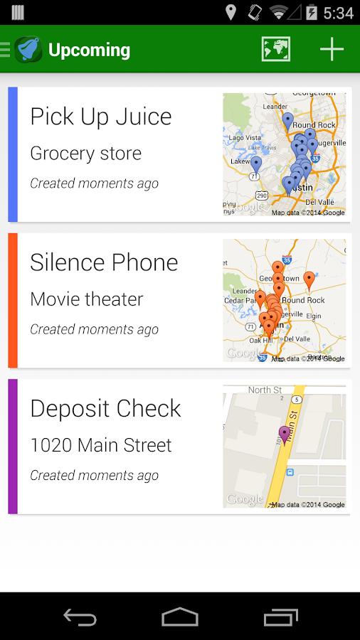 Geobells: Location Reminders - screenshot