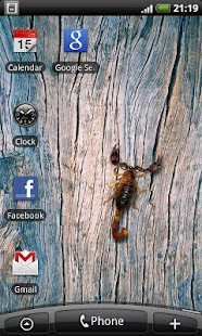 Scorpio - Live Wallpaper- screenshot thumbnail