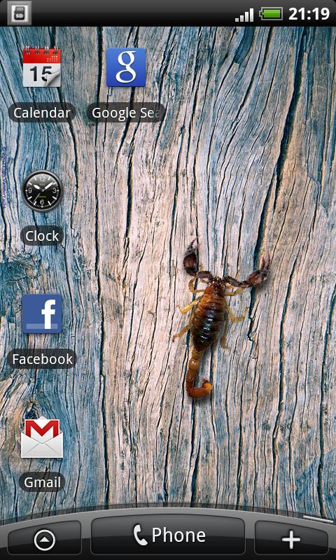 Scorpio - Live Wallpaper- screenshot