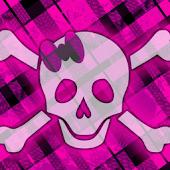 Pink Skull (Girly)