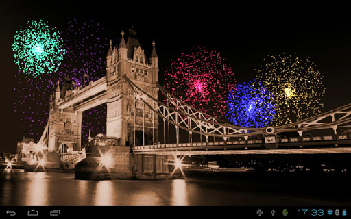 Firework Live Wallpaper