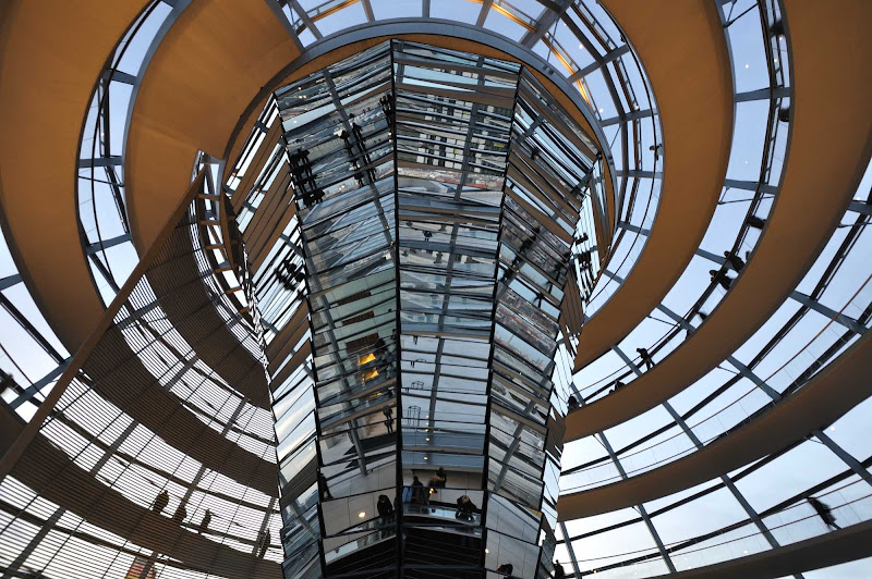 Norman Foster's Reichstag Dome in Berlin