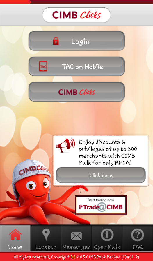CIMB Clicks Malaysia - screenshot