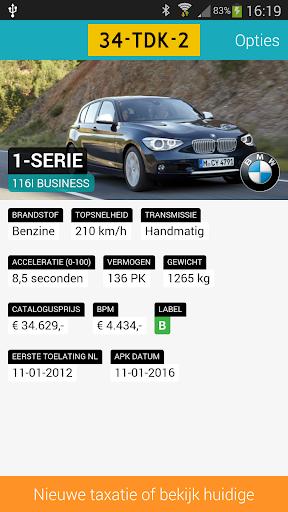 iKenteken 2.0 -NL licenseplate