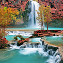 3D Waterfall Live Wallpapers icon