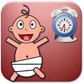 Newborn Baby Timer Tracker Log