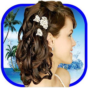 Fashion woman hairstyle for PC and MAC
