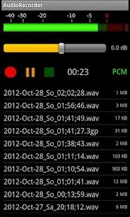 AudioRecorder - screenshot thumbnail