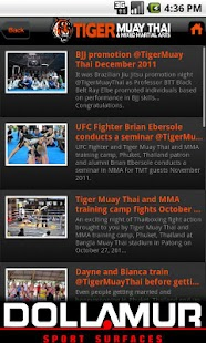 Tiger Muay Thai - screenshot thumbnail