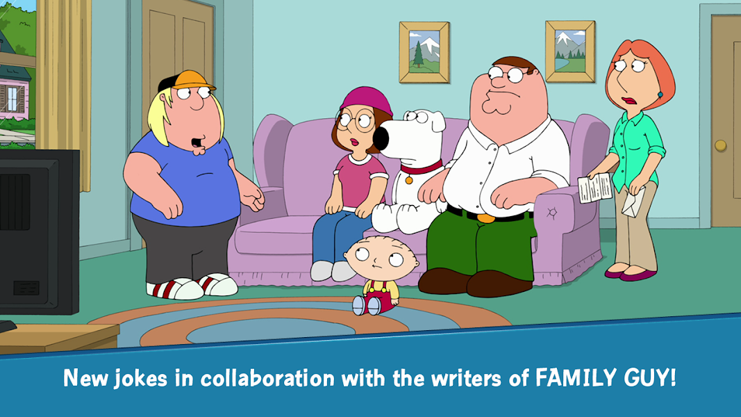 Family Guy The Quest for Stuff Apk v1.9.7 Mod