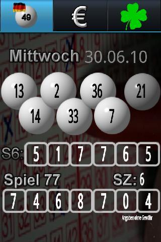 Lotto Optimizer Live - screenshot