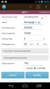Mortgage calculator CMP- screenshot thumbnail