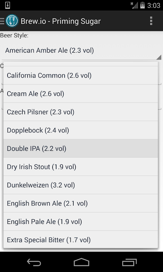 Brew.io Pro - Homebrewing- screenshot