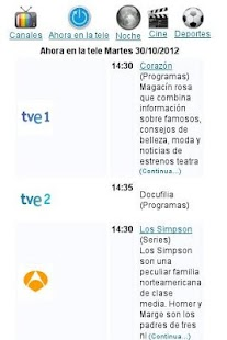 Programación TV ES - screenshot thumbnail