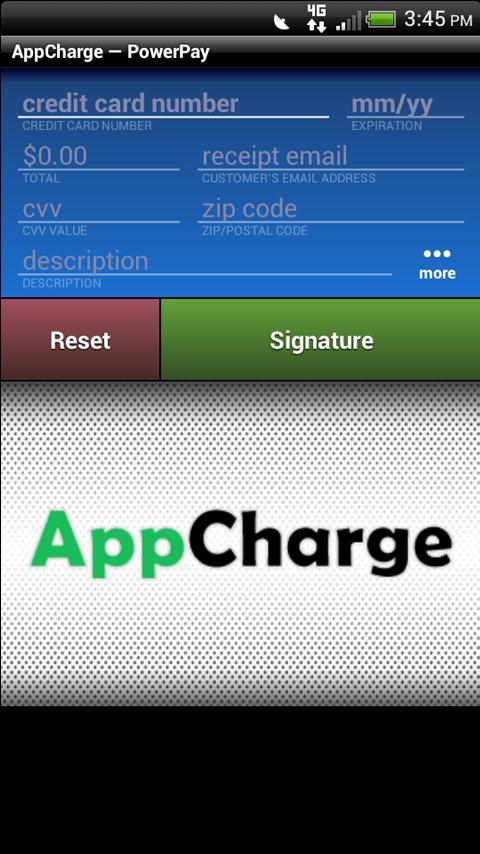AppCharge- screenshot