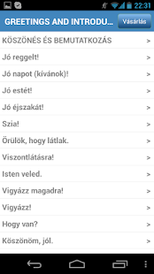Útiszótár- screenshot thumbnail
