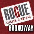 Logo for Rogue Kitchen & Wetbar - Broadway