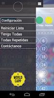 Screenshot of World Capp - album