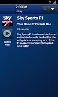 Screenshot of Sky Sports Mobile TV