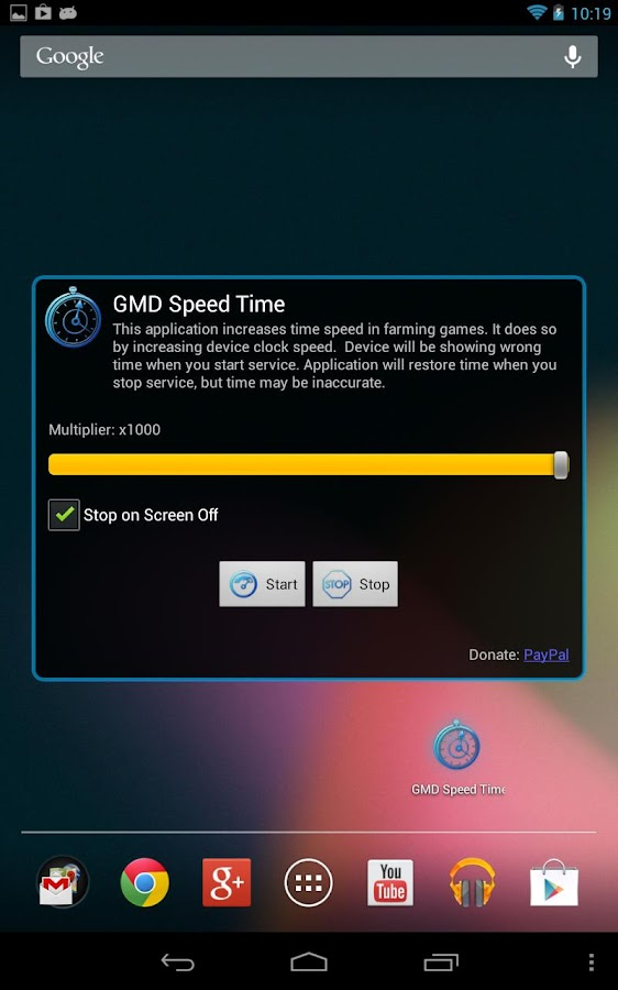 GMD Speed Time (Lite) ☆ root- screenshot