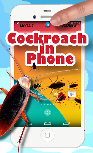 Cockroach in Phone Fun Joke