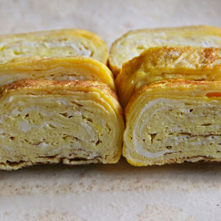 Tamagoyaki (pan Fried Rolled Egg)