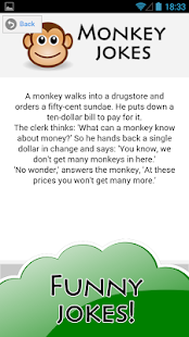 Jokester - Funny Monkey Jokes - screenshot thumbnail