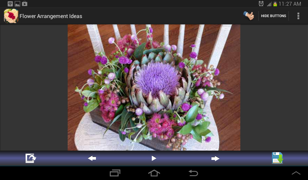 Flower Arrangement Ideas se skermkiekie