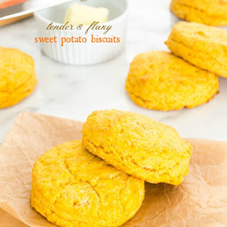 Tender Flakey Sweet Potato Biscuits