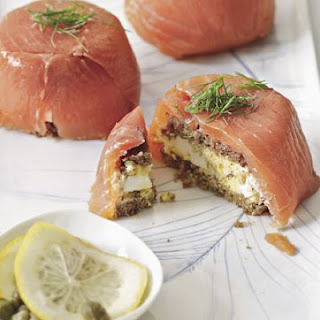 Smoked Salmon-Egg Salad Sandwiches