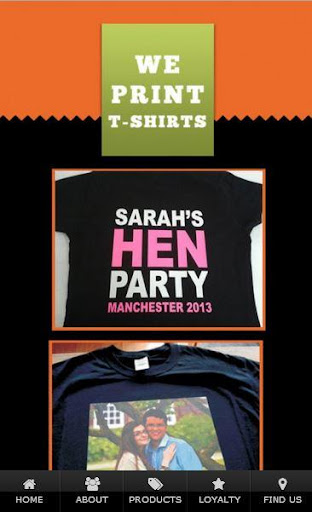 We Print T-Shirts