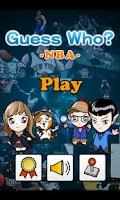 Screenshot of Guess Who? -NBA Edition-(Free)