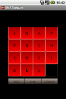 Screenshot of Test Your English Vocabulary