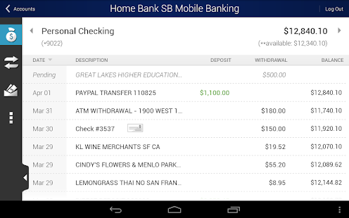 Home Bank SB Mobile Banking - screenshot thumbnail