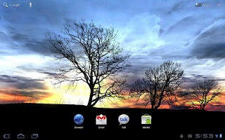 Screenshot of Silhouette Live Wallpaper