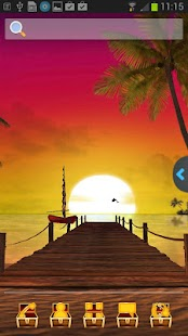 UR 3D Island Beach Live Themes - screenshot thumbnail