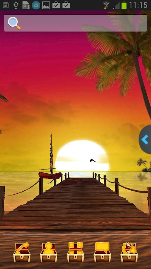 UR 3D Island Beach Live Themes - screenshot
