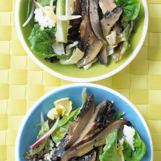 Roasted-Portobello Salad with Blue Cheese