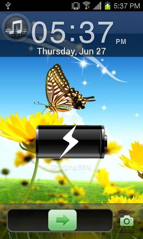 Summer Go Locker EX Theme - screenshot