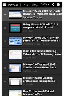 玩程式庫與試用程式App|Office Word Tutorial免費|APP試玩