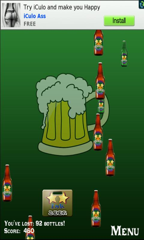 Catch the Beer - screenshot