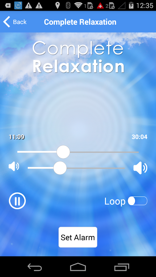 Complete Relaxation - Hypnosis- screenshot