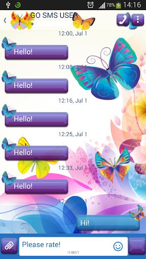 GO短信加强版多色