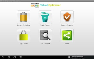 Screenshot of Tablet Optimizer