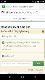 RescueTime Time Management Screenshot 7