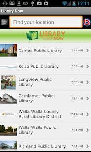 Washington State Library Now- screenshot thumbnail