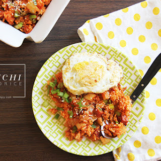 Kimchi Fried Rice (Kimchi Bokumbop).