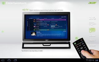 Screenshot of Acer All-in-one