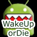 WakeUp OrDie! Alarm Clock Free logo