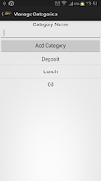 Screenshot of Personal Wallet Manager